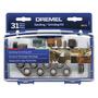 Kit Dremel 31 Piezas Estuche Para Lijar Y Esmerilar 686-01