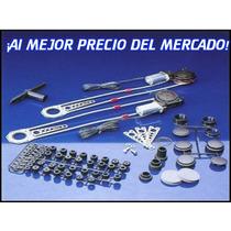 Kit De Eleva Vidrios Universal Para 2 Puertas.