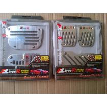 Pedaleras Tuning De Aluminio Para Carros Aut Y Sinc Type R