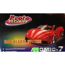 Alarma Proto Atomic 7 Anti Escaner 2 Controles Sirena 6 Tono