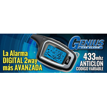 Alarma Digital Genius G300 V3 Metalica 2 Controles
