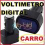 Voltímetro Digital Cigarrera Carro12v Y 24v Camion Lancha