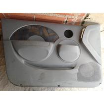 Tapiceria De Puerta De Aveo 2005 Y 2208 Gris Y Negra Parales