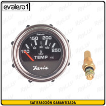 775 Reloj Electrico Nuevo Faria F-505 Medidor De Temperatura