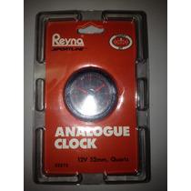 Reloj Analogico 12 V, Carro, Lancha, Moto Para Empotrar 2