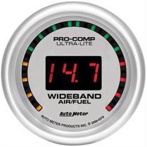 Reloj Wide Band Auto Meter Ultra Lite 2 1/16 Nuevo Con Senso