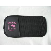 Porta Cd Tapa Sol Hello Kitty Periquitos Accesorios
