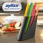 Zyliss Set De 6 Cuchillos Profesionales Para Chef Con Base