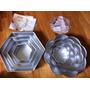 Moldes De Aluminio Para Tortas Wilton (4 Piezas)