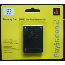 Memory Card Playstation 2 Y Ps2 Slim 8mb Tarjeta De Memoria
