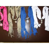 Bufandas Casuales Para Dama!!