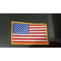 Parches Parchos Bordados Bandera Estados Unidos Usa
