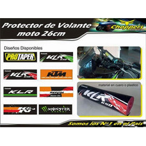 Protector Volante Rompe Diente Para Motos Enduro Kawazaki
