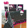 Monster High Combo De Mantel/platos/servilletas/vasos/fiesta