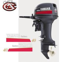 Calcomanias Tapa De Motor Yamaha 40 Y 75hp