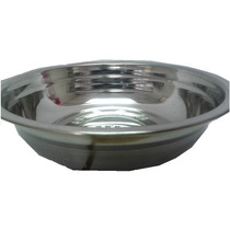 Taza 24cm Metal Accesorio Perros Mascotas Agua/alimentos