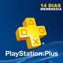 Playstation Plus Suscripcion 14 Dias