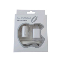 Kit Cargador Iphone Ipod Touch Adaptador Carro Usb Cable