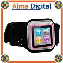 Brazalete Deportivo Ipod Nano 6g Sport Armband Estuche Negro