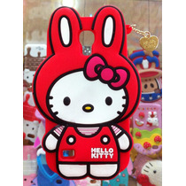 Forro Samsung S4 Mini Capitan America Goma Hello Kitty