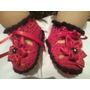 Bellos Zapatos Tejidos De Niñas