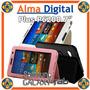 Estuche Cuero Samsung Galaxy Tab P6200 7 Forro Protector