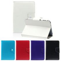 Forro Estuche Tablet 7 Pulgadas Universal Semicuero Colores