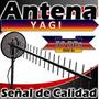 Antena Yagi 50 Db Celular Moden Telefonia Fija .2.30 Metro