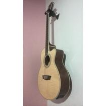 Guitarra Electroacústica Washburn Ea15 + Forro + Cuerdas