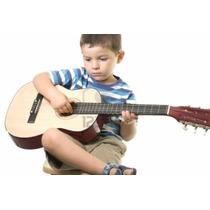 Guitarra Acústica Clásica 1/4 Para Niños Importada Zebra