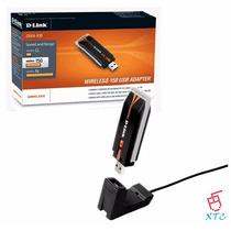 Adaptador Usb Wifi 150 Mbps D-link Dwa-125 Wifi Red Xtc