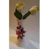 Flores Tulipanes En Foami Termo Formado
