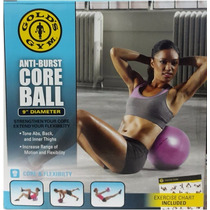 Pelota Para Ejercicios Pilates / Yoga De 23 Cms Golds Gym