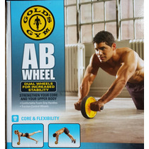 Rueda Para Abdominales Golds Gym - Ab Wheel