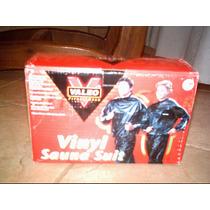 Mono Pantalón Térmico Vinyl Sauna Suit Valeo