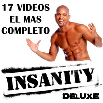 Insanity Deluxe Hd - 17 Videos - Menú Original - Documentos.