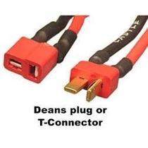Conector Tipo Te Dean Baterias Lipo Radio Control Lote De 10