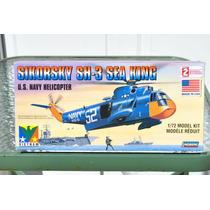 Helicopeto Para Armar Sikorky + 2 Pinturas Marca Testor