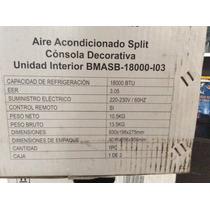 Aire Acondicionado Split 18000 Btu 220v