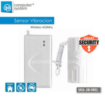 Sensor Vibración Inalambrico 433mhz Vidrio, Pared, Puertas.