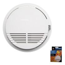 Detector De Humo Inalambrico 433mhz Sonido 85 Db Incorporado