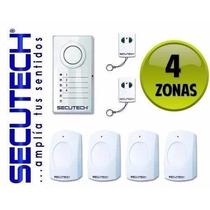 Sistema De Alarma Inalambrica Digital Secutech