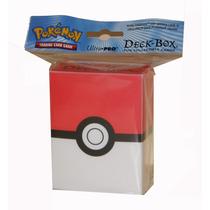 ( Geraval ) Porta Mazo Para Cartas Pokémon Ultra Pro