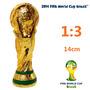 Cl27 Mini Replica De La Copa Fifa La Copa Del Mundo 14 Cm