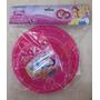 Vajilla 3 Piezas Plástico De Las Princesas Disney Para Niñas