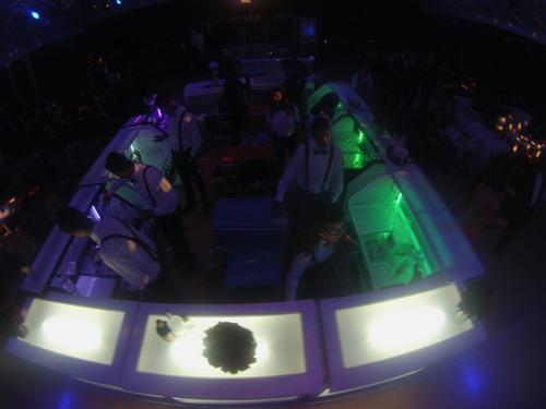 Alquiler De Barras Led Móviles Plegable Eventos Corporativos