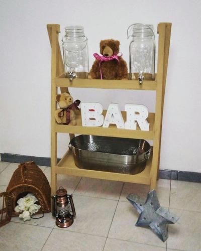 Alquiler Dispensadores Barra Movil Estacion De Bebidas