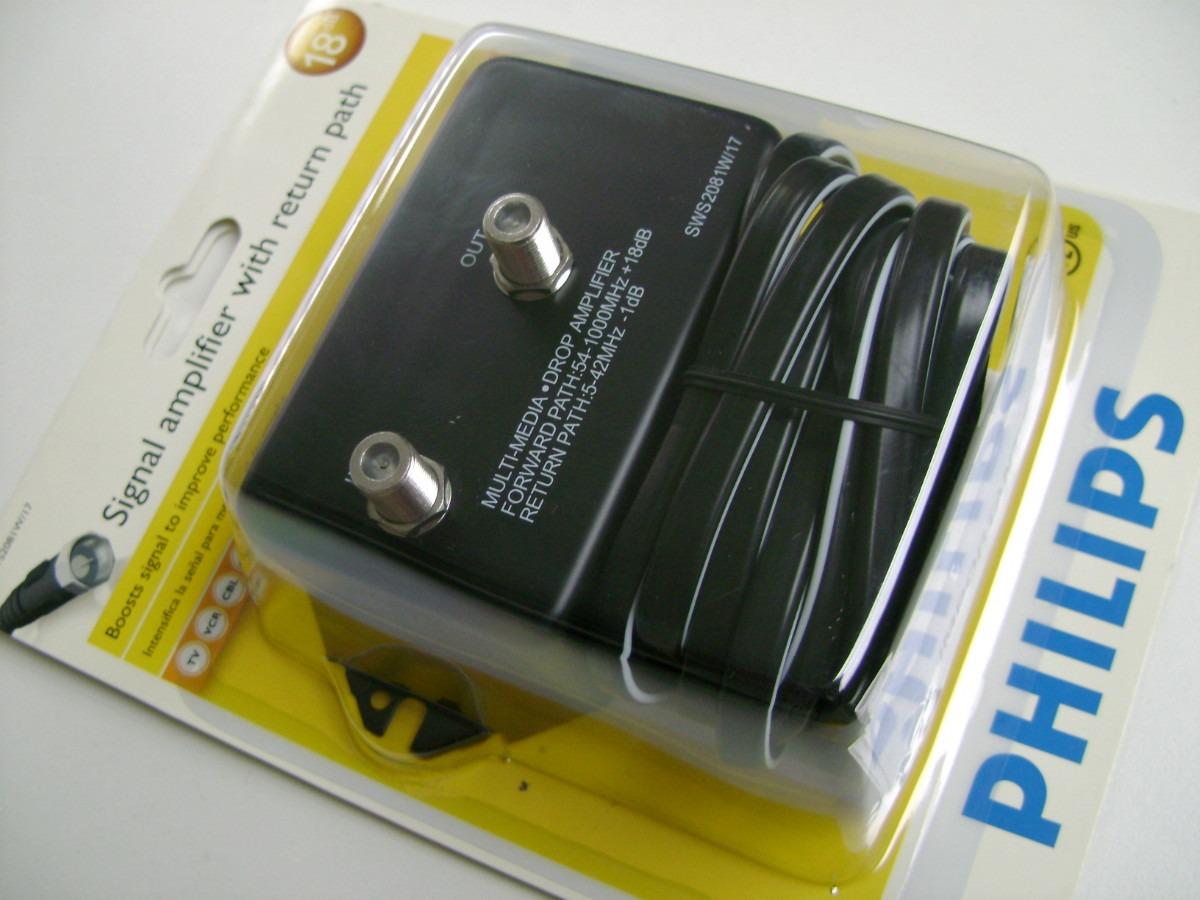 Pin amplificador de se al philips para cable tv antena - Amplificador senal tv ...