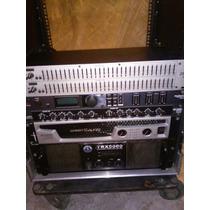 Rack Xtreme Con Topppro Trx 5000, Crest Audio Cc2800, Etc