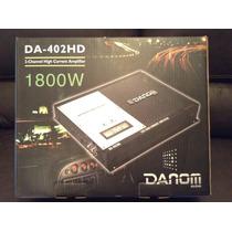 Planta Amplificador Danom 1800w Rms 2 Canales Carro Audio